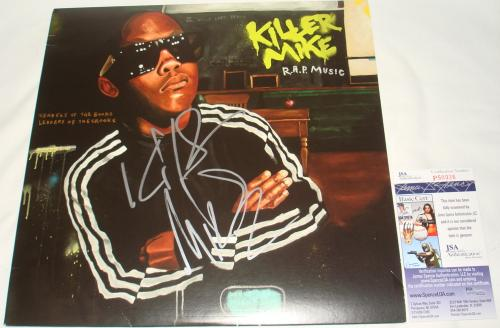 Killer Mike Signed   Autographed R.A.P. Album   LP - JSA