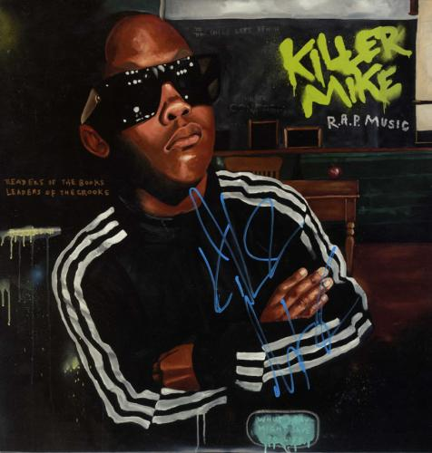 Killer Mike Signed Autographed R.A.P. Music Album Cover UACC RD COA AFTAL