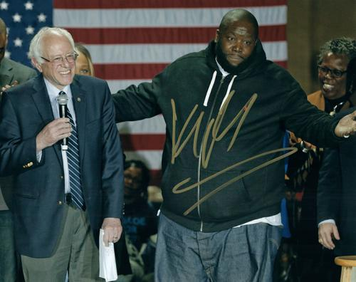 Killer Mike With Bernie Sanders Autographed Signed Photo