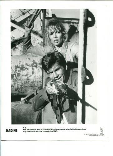 Kim Basinger Jeff Bridges Nadine Original Press Still Movie Photo