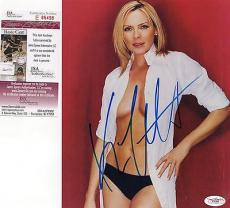 Kim Cattrall Sex And The City Signed 8x10 Photo JSA COA Autograph Samantha Jones