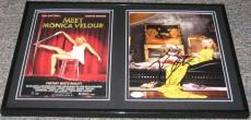Kim Cattrall SEXY Signed Framed 12x18 Photo Set JSA Meet Monica Velour
