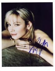 Kim Cattrall-signed photo - coa - 3