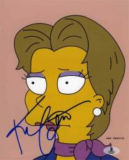 Kim Cattrall Simpsons Autographed Signed 8x10 Photo Beckett BAS COA