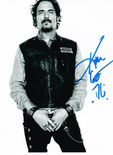 Kim Coates Signed 8x10 Photo Authentic Autograph Sons Of Anarchy Tig Fx Coa C
