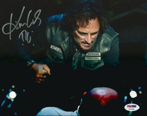 Kim Coates Signed Sons of Anarchy Tig 8x10 Photo PSA/DNA COA Autograph Picture 5
