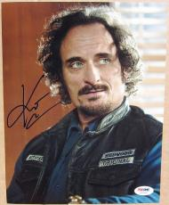 Kim Coates Sons of Anarchy Tig Trager signed 8x10 photo PSA/DNA autograph