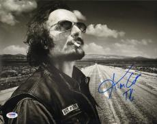 Kim Coates Tig Signed Sons of Anarchy 11x14 Photo PSA/DNA COA Autograph Picture