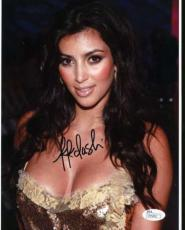 Kim Kardashian Jsa Coa Hand Signed 8x10 Photo Authenticated Autograph