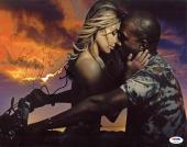 Kim Kardashian & Kanye West Signed 11X14 Photo PSA/DNA #Z02341