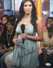 Kim Kardashian Sexy Signed Authentic Autographed 11x14 Photo (PSA/DNA) #I36279