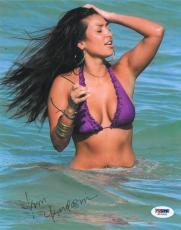 Kim Kardashian Sexy Signed Authentic Autographed 8x10 Photo (PSA/DNA) #J07605