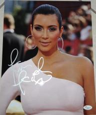KIM KARDASHIAN Signed 11x14 Color Photo 2 JSA