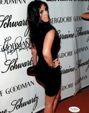 Kim Kardashian Signed Authentic Autographed 8x10 Photo JSA COA #3