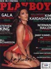 Kim Kardashian Signed Autographed Playboy December 2007 Cover Psa/dna S19070