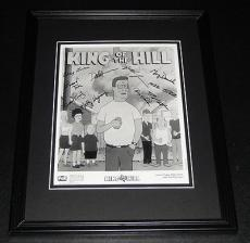 King of the Hill CAST Facsimile Signed Framed 8x10 Photo