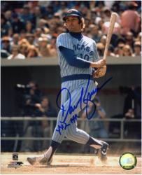 "Dave Kingman Chicago Cubs Autographed 8"" x 10"" Photograph with 442 HR Inscription"