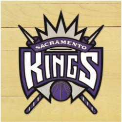 "NBA Sacramento Kings 12"" x 12"" Logo Floor Piece"