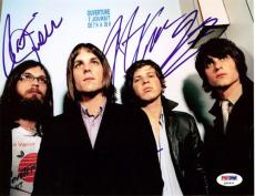 Kings of Leon Authentic Autographed Signed 8x10 Photo Caleb Followill PSA/DNA