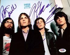 Kings of Leon Autographed Signed 8x10 Photo PSA/DNA #S00463