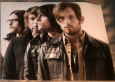 Kings Of Leon Band Signed Autograph Photo Followill +3