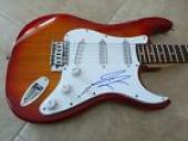 Kings Of Leon Jared Signed Autographed Electric Guitar PSA Guaranteed
