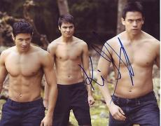 KIOWA GORDON signed *TWILIGHT SAGA* 8x10 photo Embry Call W/COA #6