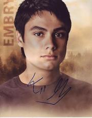 KIOWA GORDON signed *TWILIGHT SAGA* 8x10 photo Embry Call W/COA #7