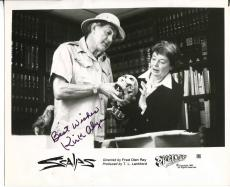 Kirk Alyn Actor Superman Dennis The Menace Signed Photo Autograph