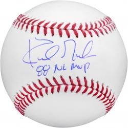 """Kirk Gibson Los Angeles Dodgers Autographed Baseball with """"1988 NL MVP"""" Inscription"""
