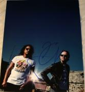 Kirk Hammett Signed Autograph Classic Metallica Guitarist Rare Pose 11x14 Photo