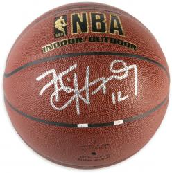 Kirk Hinrich  Autographed Basketball-Mounted Memories