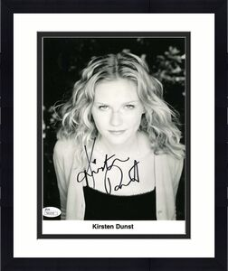 Kirsten Dunst Spiderman Signed Jsa Certified 8x10 Photo Authenticated Autograph