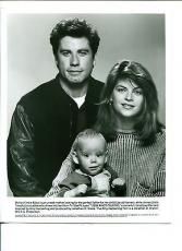 Kirstie Alley John Travolta Look Who's Talking Original Movie Press Still Photo