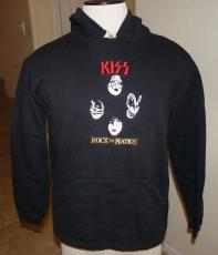Kiss 2004 Rock Nation REAL Crew Tour Issued Pullover Sweatshirt Jacket