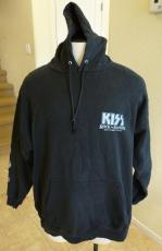 Kiss 2004 Rock Nation REAL Crew Tour Issued Pullover Sweatshirt Jacket Hoodie XL