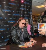 Kiss Ace Frehley Signed Space Invader Cd + Autographed Photo With Proof