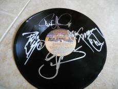 KISS Destroyer Autographed Signed LP Album Record PSA Guaranteed All 4 Original