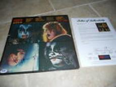 Kiss Destroyer Band Signed Autographed LP Album PSA Certified All 4 Original