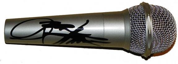 Kiss Gene Simmons Facsimile Signature   Microphone