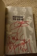 Kiss Gene Simmons Paul Stanley Ace Frehley Signed Autographed Book Rare!!!