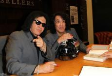 Kiss Gene Simmons & Paul Stanley Signed Nothin To Lose Book + Photos & Bas Coa