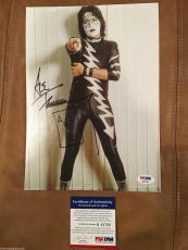 KISS guitar legend ACE FREHLEY signed autographed photograph PSA DNA COA