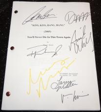 Kiss Kiss Bang Bang Autographed Full Script by Robert Downey Jr, Val Kilmer, Ariel Winter, Michelle Monaghan, Dash Mihok, and Corbin Bernsen