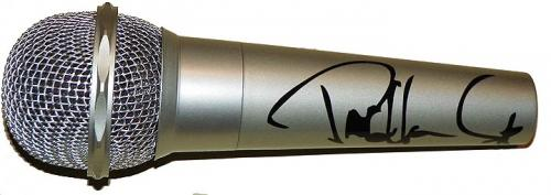 Kiss Paul Stanley Autographed Facsimile Signed Microphone