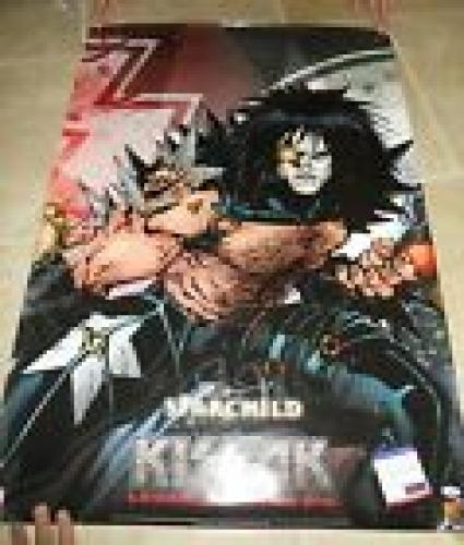 Kiss Paul Stanley Starchild Autographed Signed HUGE 27x39  Poster PSA Certified