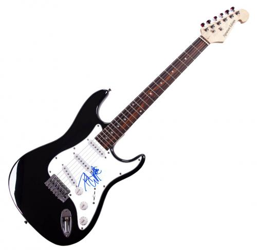 Kiss Peter Criss Autographed Signed Electric Guitar AFTAL UACC RD RACC TS