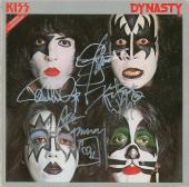 KISS Signed Album, Gene Simmons, Ace Frehley, Peter Criss & Paul Stanley. Psa!!