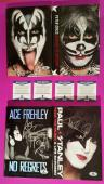 Kiss Signed Book Set Gene Simmons Paul Stanley Ace Frehley Peter Criss + Photos