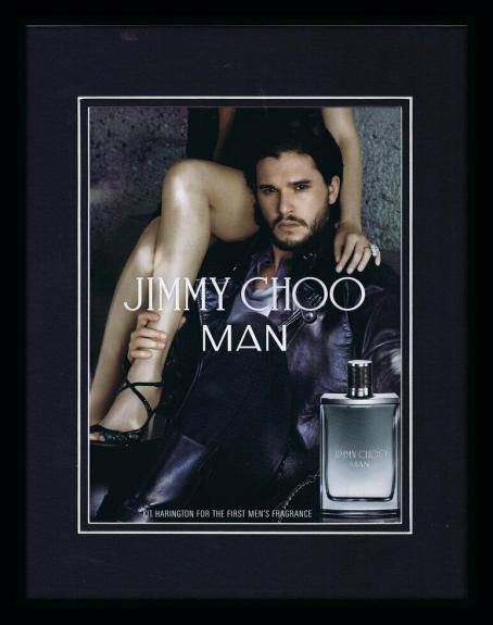 Kit Harington 2015 Jimmy Choo Man Framed 11x14 ORIGINAL Advertisement